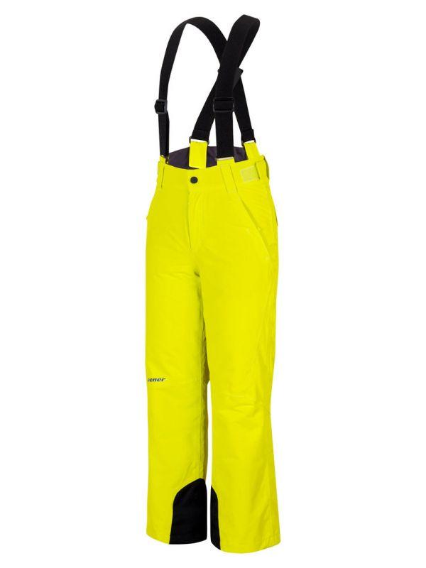 ZIENER ANDO JUNIOR dětské lyžařské kalhoty light green 19/20