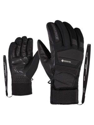 ZIENER GIL GTX +GORE ACTIVE pánské lyžařské rukavice grey iron tec 19/20