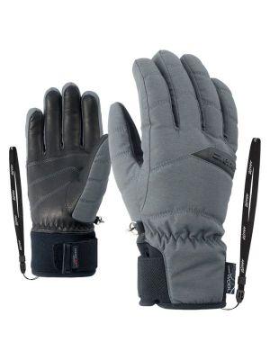 ZIENER KOMI AS® AW LADY dámské lyžařské rukavice magnet melange 19/20