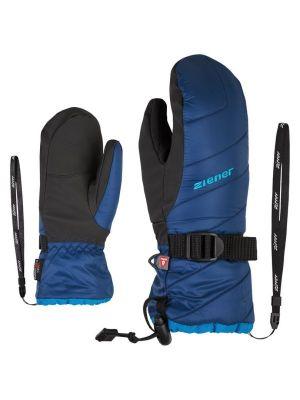 ZIENER LOWIK AS® PR MITTEN JUNIOR dětské lyžařské rukavice nautic 19/20
