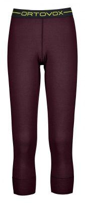 ORTOVOX 145 ULTRA SHORT PANTS W dámské kalhoty dark wine