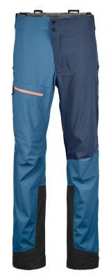 ORTOVOX 3L ORTLER PANTS M pánské skialpové kalhoty blue sea