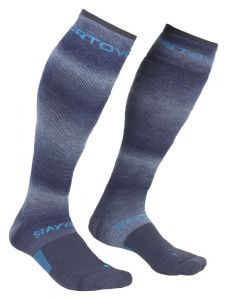 ORTOVOX SKI STAY OR GO SOCKS M ponožky night blue