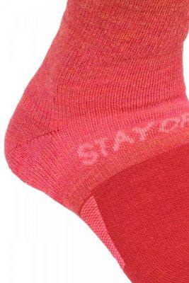 ORTOVOX SKI STAY OR GO SOCKS W hot coral dámské ponožky