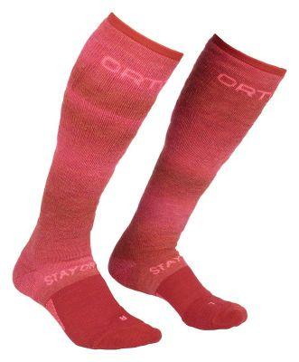 ORTOVOX SKI STAY OR GO SOCKS W dámské ponožky hot coral