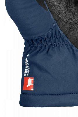 ORTOVOX SWISSWOOL FREERIDE GLOVE M 56332000-90201 skialpové rukavice black raven