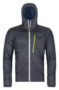 ORTOVOX SWISSWOOL PIZ BIANCO JACKET M pánská bunda black steel