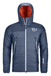 ORTOVOX SWISSWOOL VERBIER JACKET M pánská bunda night blue blend