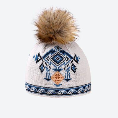 KAMA A139 pletená čepice béžová