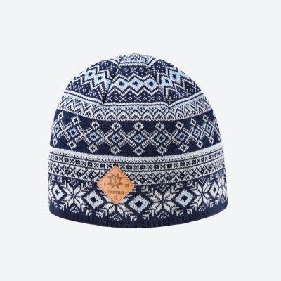 KAMA A142 pletená čepice tmavě modrá