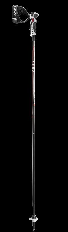 LEKI CARBON 14 S 6366790 sjezdové hole black-white-red-anthracite 19/20