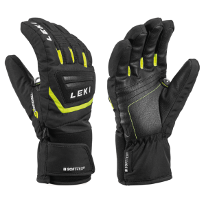 LEKI GRIFFIN S JUNIOR prstové rukavice black-yellow 19/20