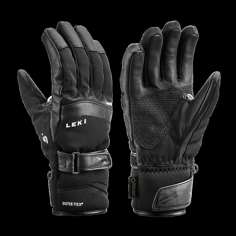 LEKI PERFORMANCE S GTX 6408543010 prstové rukavice black 19/20