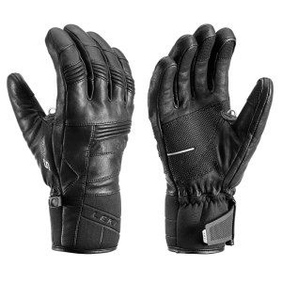 LEKI PROGRESSIVE 8 S prstové rukavice black