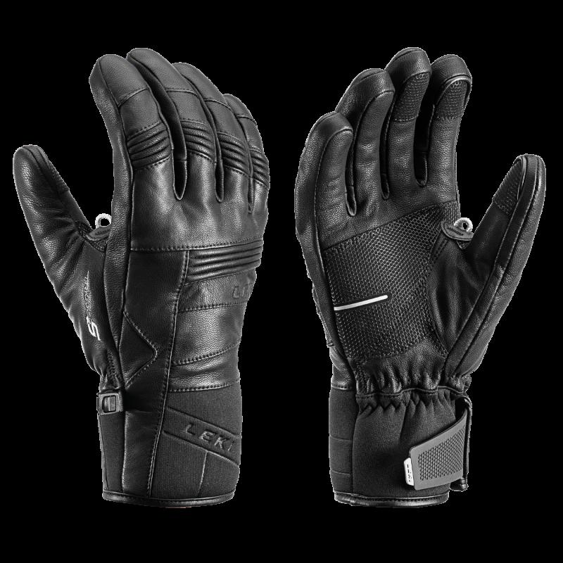 LEKI PROGRESSIVE 8 S 649815301 prstové rukavice black 20/21