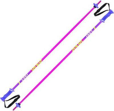 LEKI RIDER dětské sjezdové hole pink-white-green-lilac