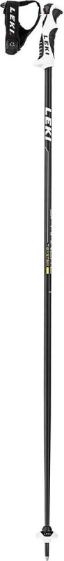 LEKI SPARK LITE 6406749 sjezdové hole black-bright anthracite-white-yellow 19/20