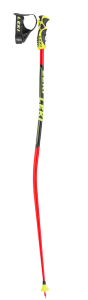 LEKI WC GS TBS sjezdové hole neonred-black-white-yellow 19/20