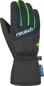REUSCH BENNET R-TEX® XT Junior dětské rukavice dress blue/neon green 19/20