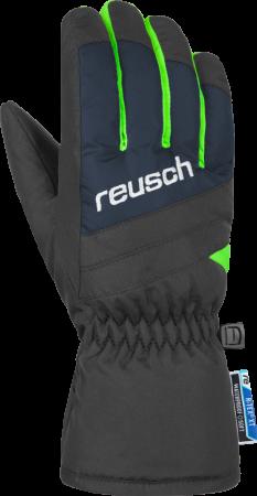 REUSCH BENNET R-TEX® XT Junior dětské rukavice 4861206-469 dress blue/neon green 19/20
