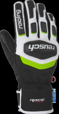 REUSCH RACE TRAINING R-TEX® XT rukavice black/white/neon green 19/20