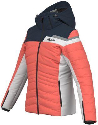 COLMAR dámská lyžařská bunda borealis-blue black-white-greystone