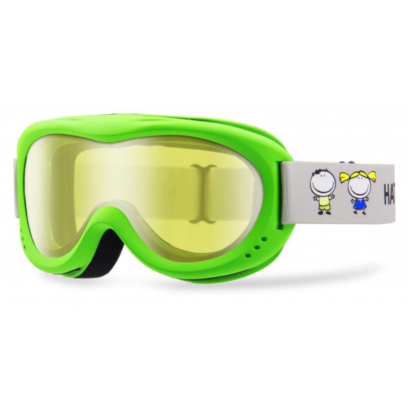 HATCHEY J CLOWN dětské sjezdové brýle green/silver 20/21