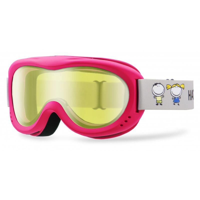 HATCHEY J CLOWN dětské sjezdové brýle pink