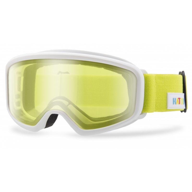 HATCHEY J OPTIC dětské sjezdové brýle white 20/21