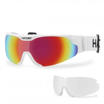 HATCHEY NORDIC LAUF PLUS běžkařské brýle white