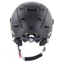 HATCHEY RIVAL VISOR lyžařská helma black 20/21