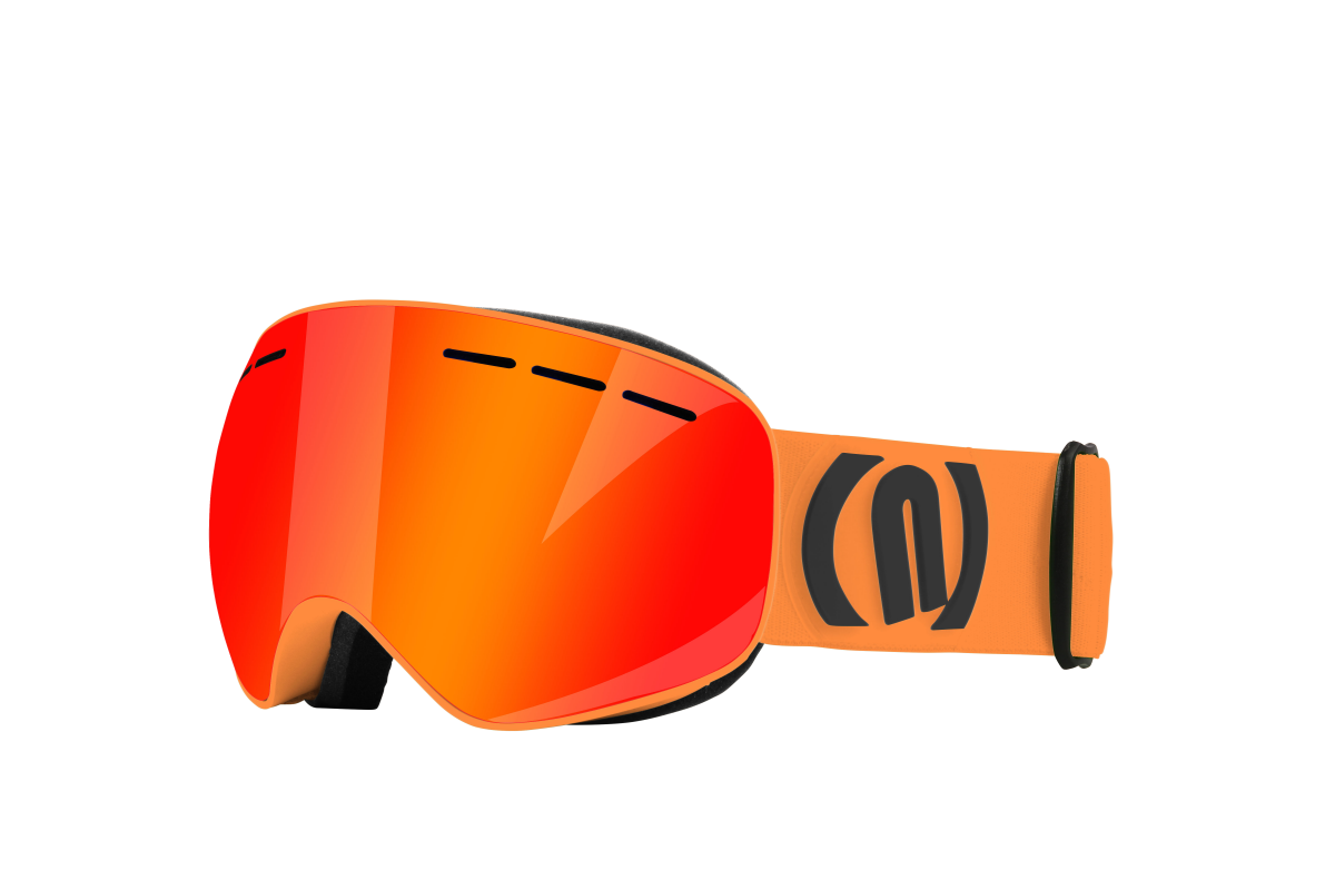 NEON ALIEN lyžařské brýle orange black 19/20