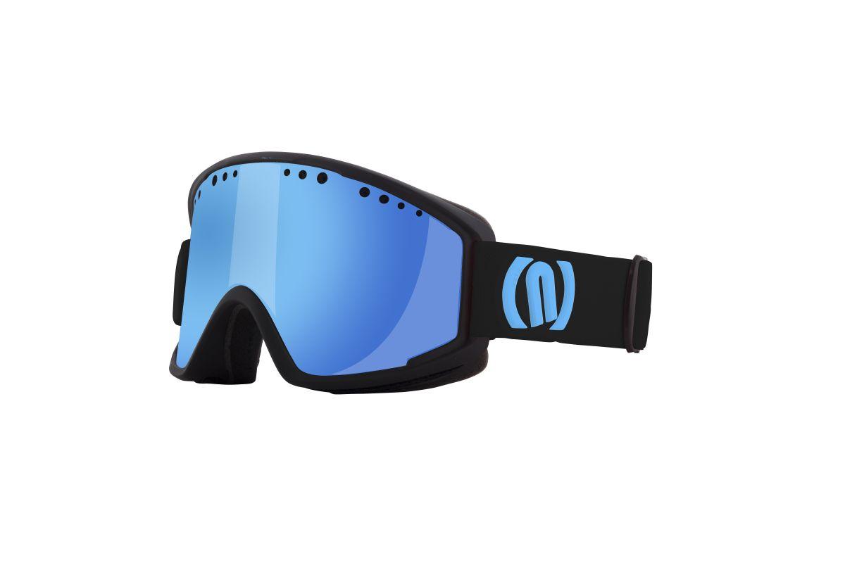 NEON VISUAL OTG lyžařské brýle cyan black 19/20