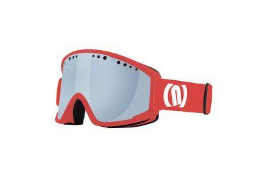 NEON VISUAL OTG lyžařské brýle red fluo