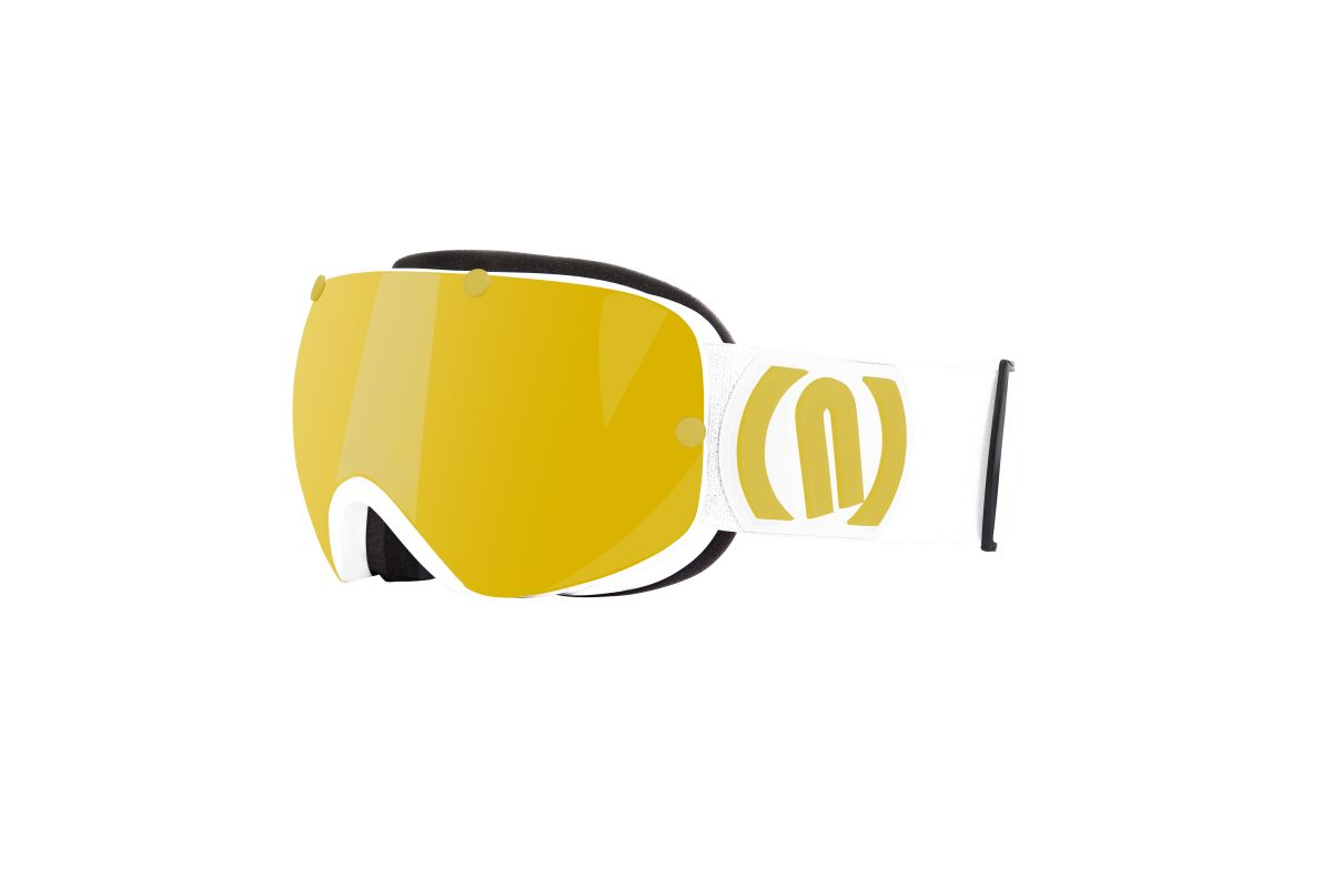 NEON WIRE lyžařské brýle white gold 19/20