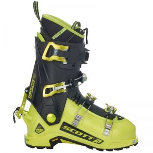 SCOTT M SUPERGUIDE CARBON skialpové boty lime green/black 19/20
