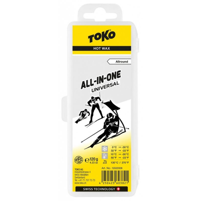 TOKO BASE PERFORMANCE 5502008 all in one vosk 120 g