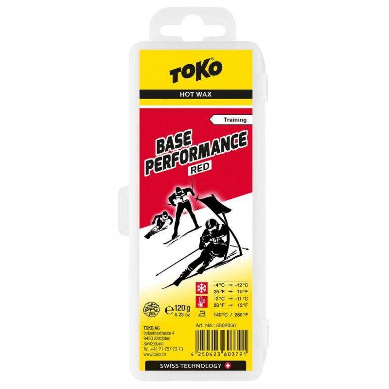 TOKO BASE PERFORMANCE 5502036 červený vosk 120 g