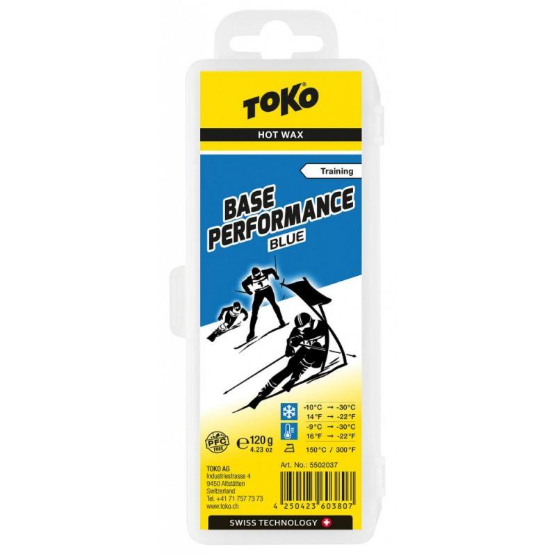 TOKO BASE PERFORMANCE 5502037 modrý vosk 120 g