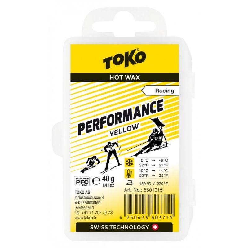 TOKO PERFORMANCE 5501015 žlutý vosk 40 g