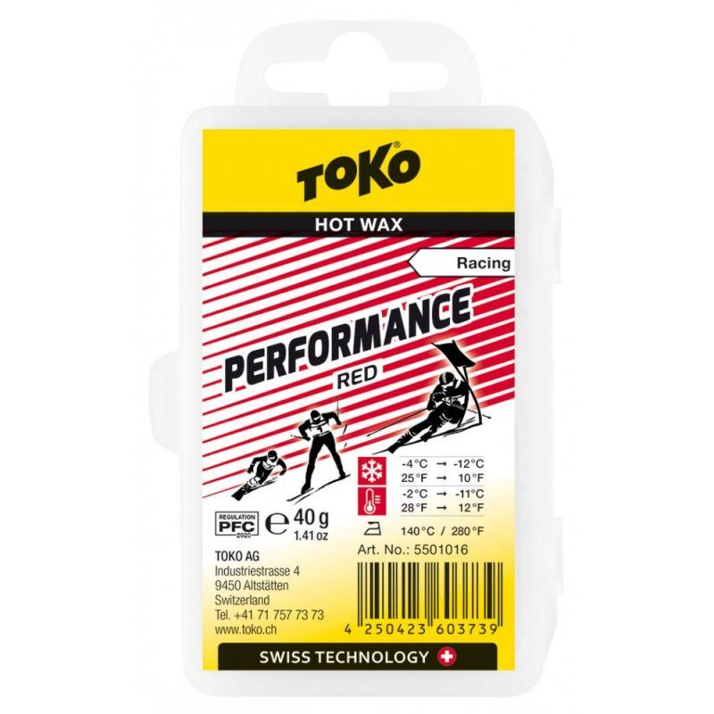 TOKO PERFORMANCE 5501016 červený vosk 40 g