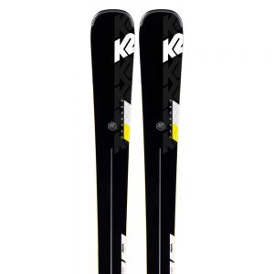 K2 CHARGER + M3 11 TCX LIGHT QUIKCLIK sjezdové lyže set black/yellow 19/20