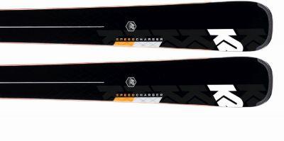 K2 SPEED CHARGER + MXCELL 14 TCX D sjezdové lyže set blk/flo/red 19/20