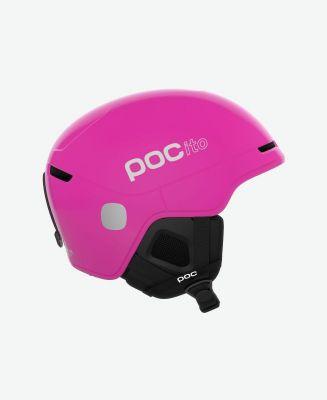 POC POCito OBEX SPIN fluorescent pink dětská lyžařská helma 20/21