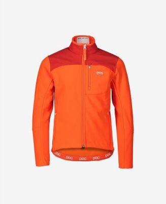 POC RACE JACKET JR fluorescent orange dětská závodní bunda 20/21 | 130, 140, 150, 160