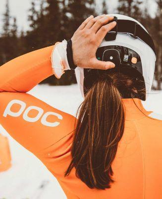POC SKULL DURA COMP SPIN hydrogen white lyžařská helma 20/21