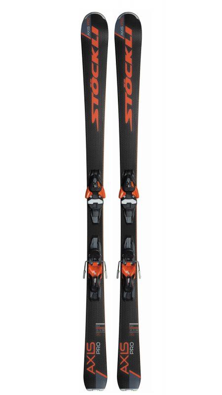 STÖCKLI AXIS PRO E-ZI11 L80 orange sjezdové lyže set 18/19 Stöckli