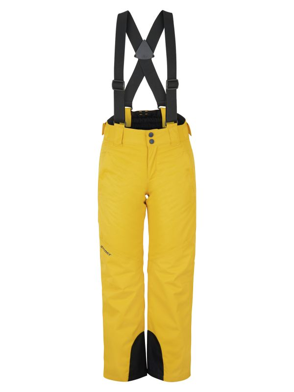 ZIENER ARISU JUNIOR dětské lyžařské kalhoty mustard 20/21