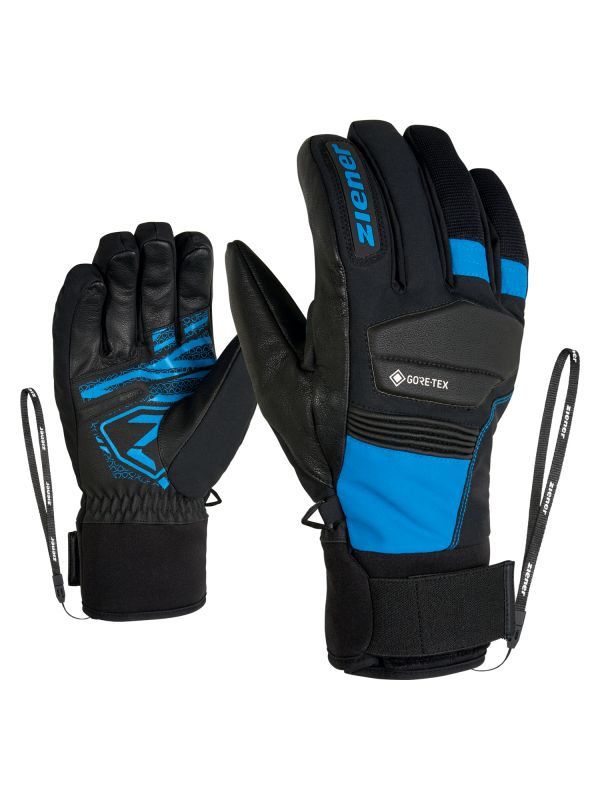 ZIENER GIL GTX + GORE ACTIVE lyžařské rukavice persian blue 20/21