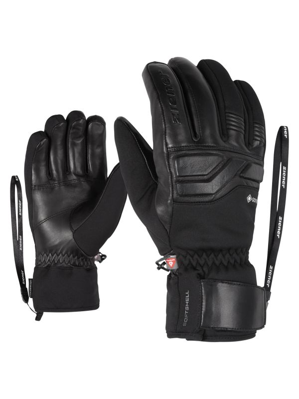 ZIENER GIN GTX PR lyžařské rukavice black 20/21